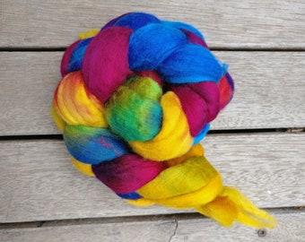 14.5 Micron Merino Wool Fibre - Rainbow