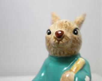 Lefton Papa Easter Bunny with Eggs April bunnies Easter Eggs Easter rabbits vintage Lefton Figurine Collectible rabbit bunny egg hunt