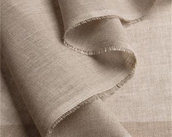 CHEESECLOTH LINEN FABRIC ~ Natural Linen untreated ~ For all types of Clothing, Interior design, Cheese making & Homeware