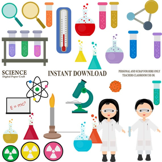 science clipart chemistry clipart school clipart experiment rh etsy com chemistry clipart png chemistry clip art free