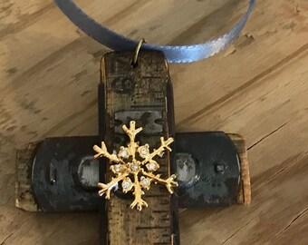 Carpenter's Ruler Ornament