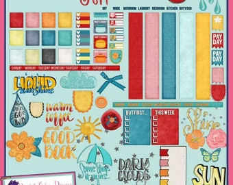 Liquid Sunshine Planner Kit