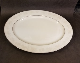 "Noritake Contemporary ""Misty"" #2883 Fine China 13.5"" Serving Platter"