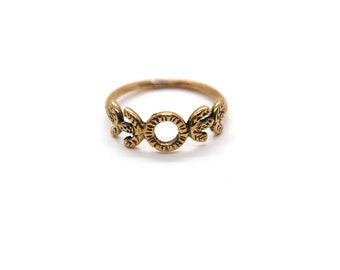 Source Ring // bronze or sterling silver