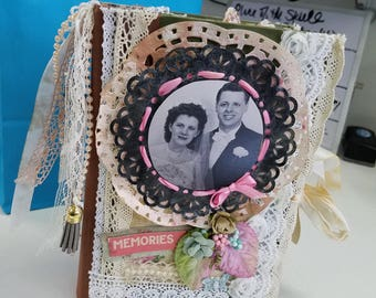 Custom family photo/Journal
