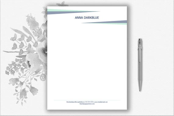 Personal Letterhead Letter Stationery Stationery Download