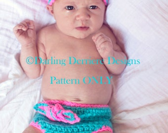 PDF Knot Diaper Cover and Knot Headband PATTERN