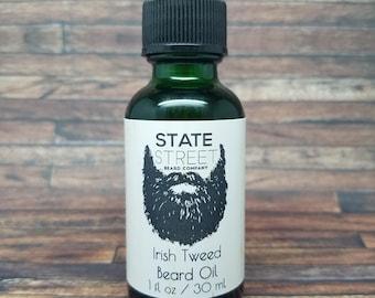 STATE STREET BEARD Co Irish Tweed Beard Oil