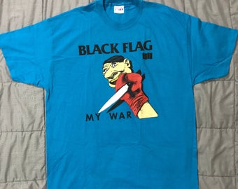 Black Flag - My War t-shirt size XL, NOS.