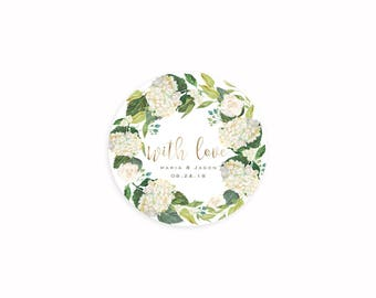 Thank You Stickers, Favor Stickers, Favor Thank You Sticker, Envelope Seals, Thank you label, Bridal Shower Favor Stickers, Business Sticker