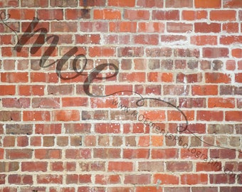 Brick wall - instant download - high resolution digital backdrop
