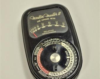 Vintage Weston Master II Exposure Meter