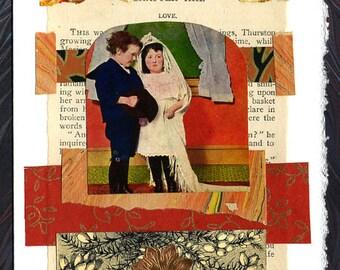 Wedding Collage Card Love Anniversary