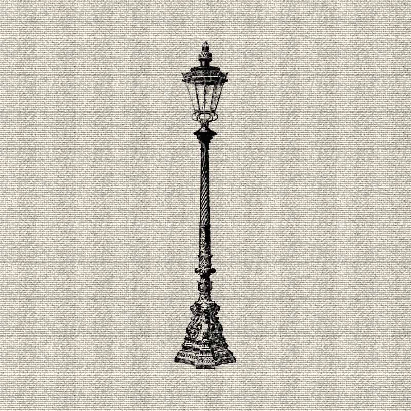 Vintage lamp post outdoor light wall decor art printable zoom mozeypictures Images
