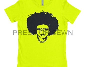 Big Fro with Glasses