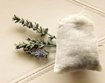 Dried Lavendar in 3x4 Muslin Sachets