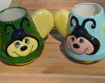 Bumble Bee Planters