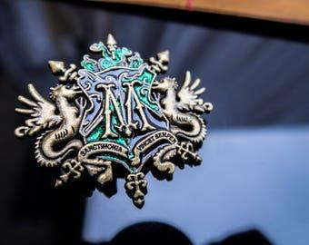 Malfoy House Inspired Pin- Badge- Brooch