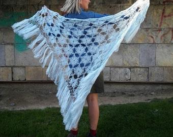 Crochet shawl.  Shawl Crochet.  Crochet shawl. Crochet shawl. Knitwear shawl.  Women's shawl.  Paja.