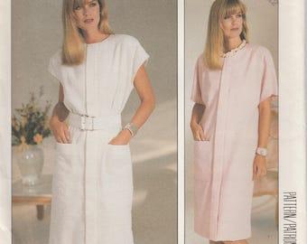 Women's Dress, Pullover Dress, Sewing Pattern, Vintage, McCall's, Dress Pattern, Women's Size 8/10/12, Uncut Pattern, Free Shipping, 2911