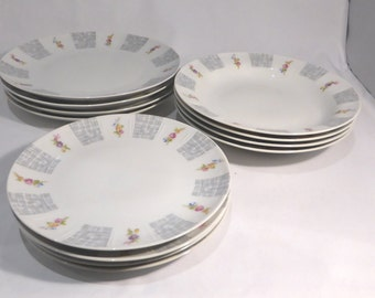 Mid-century Winterling Bavaria 4 place dinner service