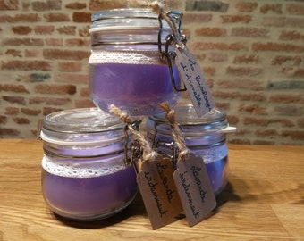 Candle Lavender scent, of course