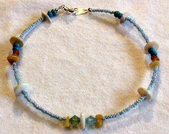 Beach themed anklet
