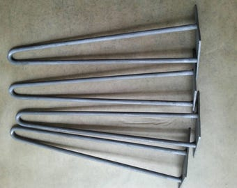 """Hairpin table legs   20"""" tall    set of 4legs. Free Shipping."""