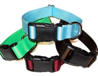 "1"" Solid Nylon Dog Collar Buckle"