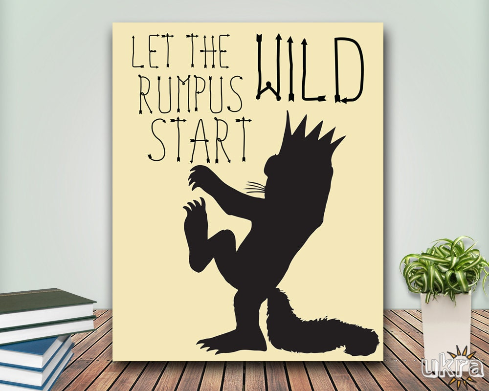 Amazing Where The Wild Things Are Wall Art Pictures - Wall Art Ideas ...