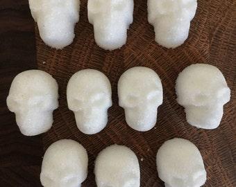 20 Edible Sugar Skulls - Dia de los Muertos - Halloween