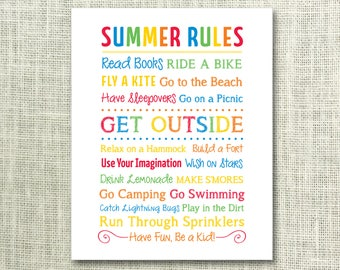 Tactueux image for summer rules printable