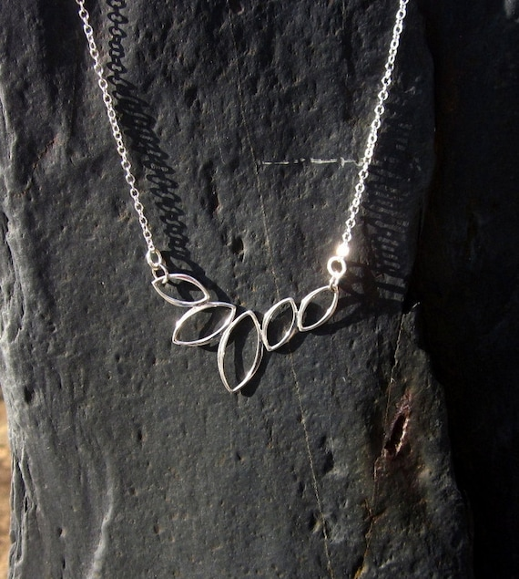 Sterling Silver Marque Festoon Necklace - #336