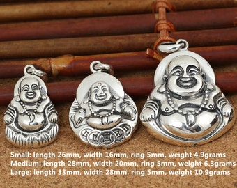 Sterling silver happy buddha beads sterling buddha beads 925 sterling silver happy buddha pendant sterling buddha pendant 925 silver buddha pendant happy buddha pendant smile buddha pendant e444 mozeypictures Images