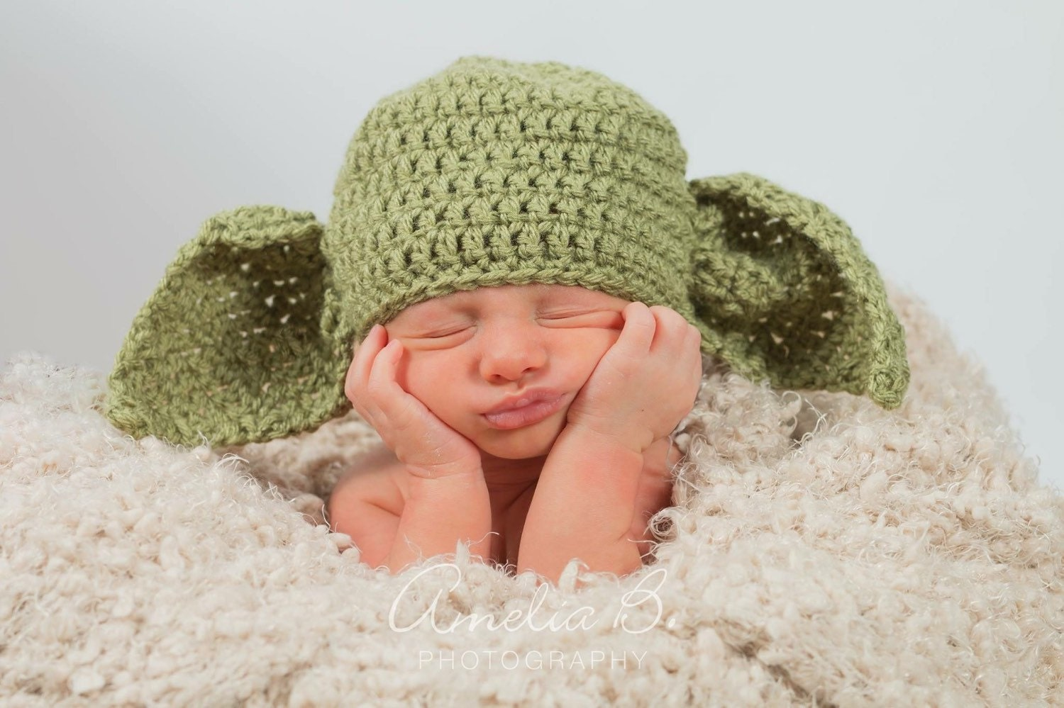 how to knit a baby yoda hat zoom