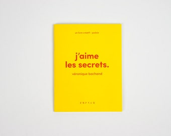 Creative book - I love secrets.