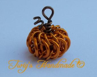 Chainmaille Pumpkin Tutorial