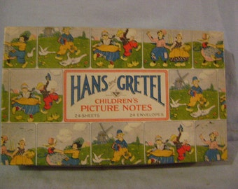 Boxed Hans and Gretel Children's Picture Notes