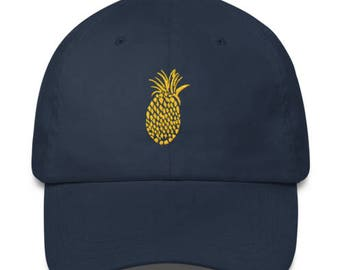 Holla Back Co. Navy Pineapple Hat