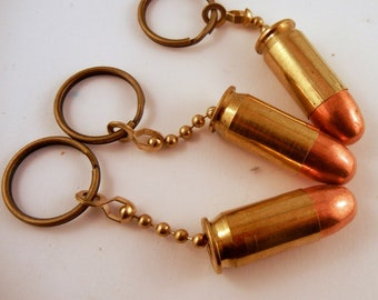 Bullet Keychain 45 caliber