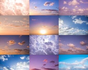 Aloha Skies | Hawaiian Sky Overlays for Photoshop