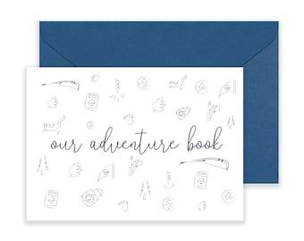Our adventure book - Postcard