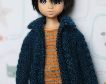 Knit Cabled Cardigan for Ruruko
