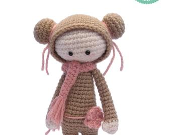 Crochet amigurumi pattern - Doll amigurumi, Doll pattern, Plush doll