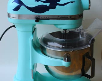 Mermaid Kitchen Mixer Decal