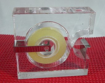 Adhesive tape dispenser by the designer Serge Mansau | France 1970