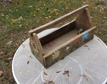 Rustic Handmade Toolbox