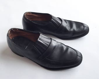 Price down, 50s slip on shoes