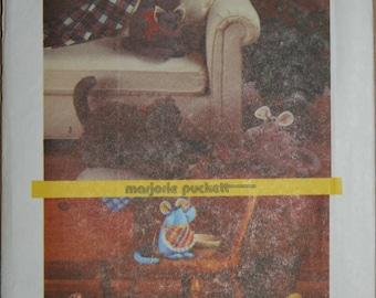 Vintage Simplicity 6824 Marjorie Puckett soft sculptured animals