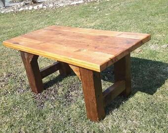 Reclaimed Thresher Board Coffee Table